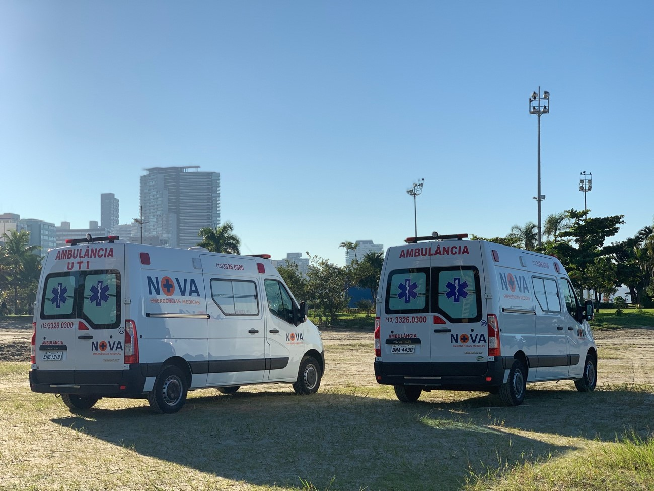 Locação de Ambulancias em Santos